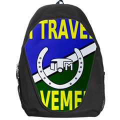 Flag Of The Irish Traveller Movement Backpack Bag by abbeyz71