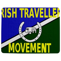 Flag Of The Irish Traveller Movement Jigsaw Puzzle Photo Stand (rectangular) by abbeyz71