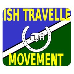 Flag Of The Irish Traveller Movement Double Sided Flano Blanket (small)  by abbeyz71