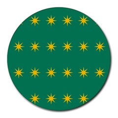 32 Stars Fenian Flag Round Mousepads by abbeyz71