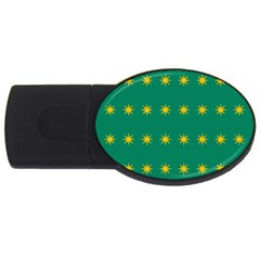 32 Stars Fenian Flag Usb Flash Drive Oval (4 Gb) by abbeyz71