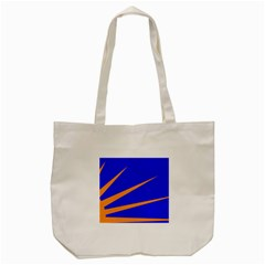 Sunburst Flag Tote Bag (cream) by abbeyz71