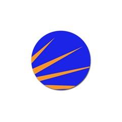 Sunburst Flag Golf Ball Marker (4 Pack) by abbeyz71