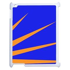 Sunburst Flag Apple Ipad 2 Case (white) by abbeyz71