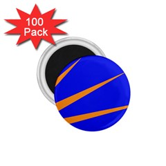 Sunburst Flag 1 75  Magnets (100 Pack)  by abbeyz71