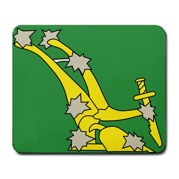 Starry Plough Flag  Large Mousepads