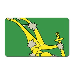 Starry Plough Flag  Magnet (rectangular) by abbeyz71