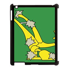 Starry Plough Flag  Apple Ipad 3/4 Case (black) by abbeyz71