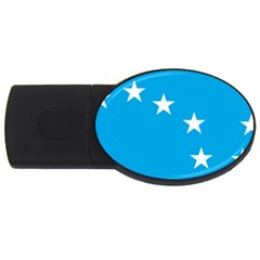 Starry Plough Flag Usb Flash Drive Oval (2 Gb) by abbeyz71