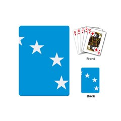 Starry Plough Flag Playing Cards (mini)  by abbeyz71