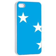 Starry Plough Flag Apple Iphone 4/4s Seamless Case (white) by abbeyz71