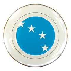 Starry Plough Flag Porcelain Plates by abbeyz71
