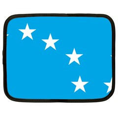 Starry Plough Flag Netbook Case (large) by abbeyz71