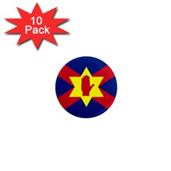 Flag Of The Ulster Nation 1  Mini Magnet (10 Pack)  by abbeyz71