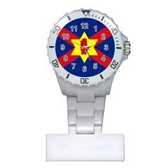 Flag Of The Ulster Nation Plastic Nurses Watch by abbeyz71