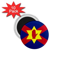 Flag Of The Ulster Nation 1 75  Magnets (10 Pack)  by abbeyz71