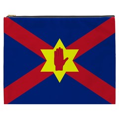 Flag Of The Ulster Nation Cosmetic Bag (xxxl)  by abbeyz71