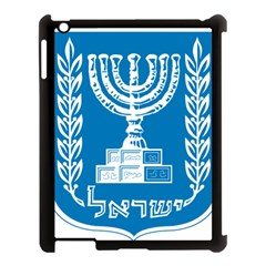 Emblem Of Israel Apple Ipad 3/4 Case (black) by abbeyz71
