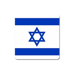 Flag Of Israel Square Magnet by abbeyz71