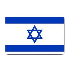Flag Of Israel Small Doormat  by abbeyz71