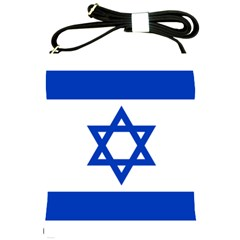 Flag Of Israel Shoulder Sling Bags by abbeyz71