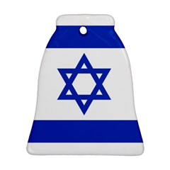 Flag Of Israel Bell Ornament (two Sides) by abbeyz71