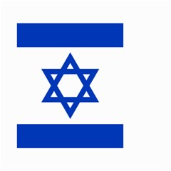 Flag Of Israel Small Garden Flag (two Sides) by abbeyz71