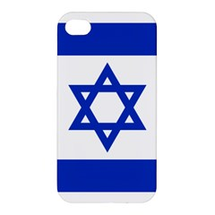 Flag Of Israel Apple Iphone 4/4s Premium Hardshell Case by abbeyz71