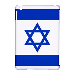 Flag Of Israel Apple Ipad Mini Hardshell Case (compatible With Smart Cover) by abbeyz71