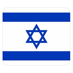 Flag Of Israel Double Sided Flano Blanket (small)  by abbeyz71
