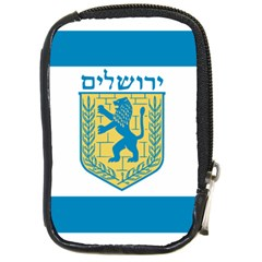 Flag Of Jerusalem Compact Camera Cases by abbeyz71