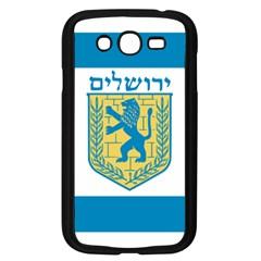 Flag Of Jerusalem Samsung Galaxy Grand Duos I9082 Case (black) by abbeyz71