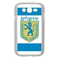 Flag Of Jerusalem Samsung Galaxy Grand Duos I9082 Case (white) by abbeyz71
