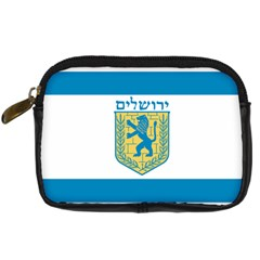 Flag Of Jerusalem Digital Camera Cases by abbeyz71