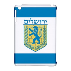 Flag Of Jerusalem Apple Ipad Mini Hardshell Case (compatible With Smart Cover) by abbeyz71