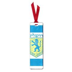 Flag Of Jerusalem Small Book Marks by abbeyz71