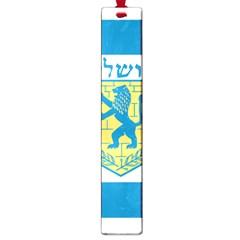 Flag Of Jerusalem Large Book Marks by abbeyz71