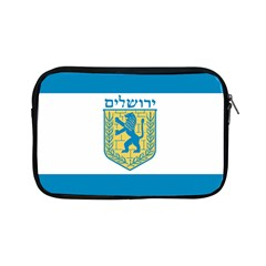 Flag Of Jerusalem Apple Ipad Mini Zipper Cases by abbeyz71