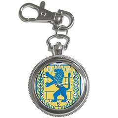 Coat Of Arms Of Jerusalem Key Chain Watches by abbeyz71