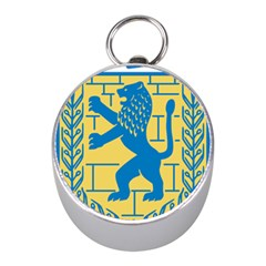 Coat Of Arms Of Jerusalem Mini Silver Compasses by abbeyz71