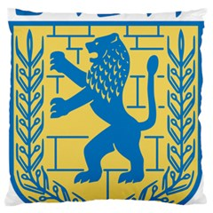 Coat Of Arms Of Jerusalem Standard Flano Cushion Case (one Side) by abbeyz71