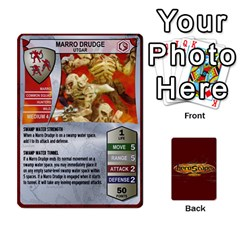 Heroscape Heroes 1 By Hassenfieffer   Playing Cards 54 Designs   Bzdxqhhaacf2   Www Artscow Com Front - Diamond2