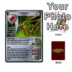 Heroscape Heroes 1 By Hassenfieffer   Playing Cards 54 Designs   Bzdxqhhaacf2   Www Artscow Com Front - Club4