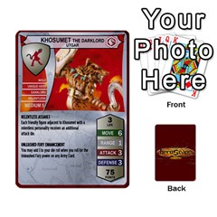 Heroscape Heroes 1 By Hassenfieffer   Playing Cards 54 Designs   Bzdxqhhaacf2   Www Artscow Com Front - Joker1