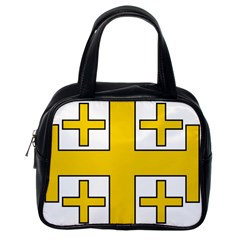 Jerusalem Cross Classic Handbags (one Side) by abbeyz71