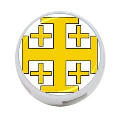 Jerusalem Cross 4 Port Usb Hub (two Sides)  by abbeyz71