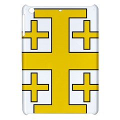 Jerusalem Cross Apple Ipad Mini Hardshell Case by abbeyz71