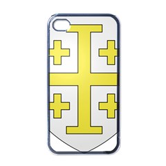 The Arms Of The Kingdom Of Jerusalem  Apple Iphone 4 Case (black) by abbeyz71