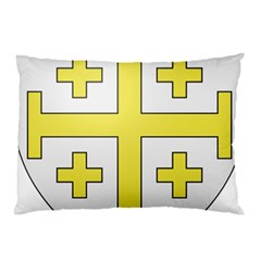 The Arms Of The Kingdom Of Jerusalem  Pillow Case (two Sides) by abbeyz71