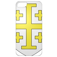 The Arms Of The Kingdom Of Jerusalem  Apple Iphone 5 Classic Hardshell Case by abbeyz71